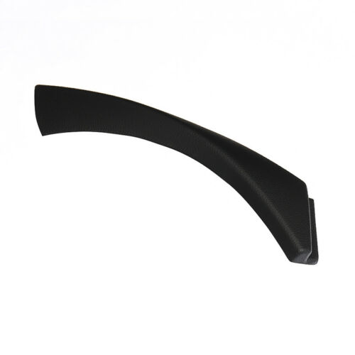 1x Left Inner Door Panel Handle Trim Cover Black for BMW 3 E90 Sedan Wagon 04-12