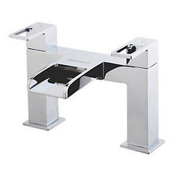 Moretti Lambert Chute d'eau Salle de Bain de remplissage de bain robinets en laiton massif cascade robinet