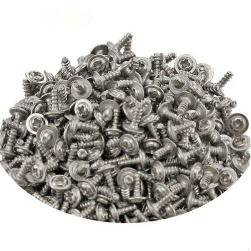 50Pcs Round Washer Head Phillips Self-tapping Screws M2*4-M4*20