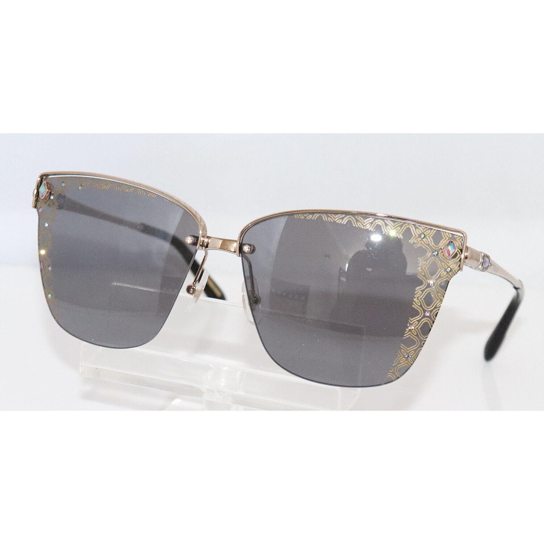New Women's Chopard SCHC19S 8FEL Dazzled Crystal Sunglasses