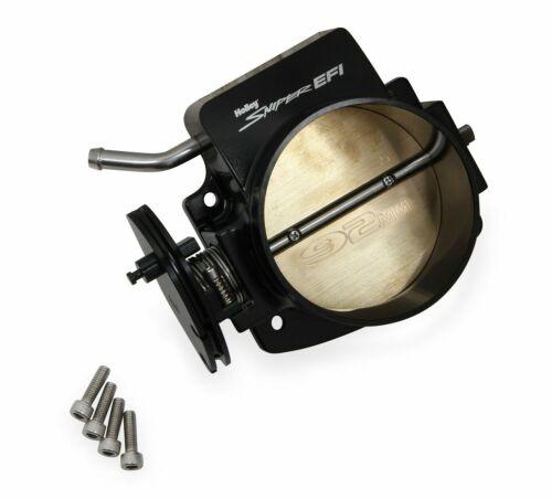 Holley Sniper EFI Throttle Body 92mm Black Billet Aluminum for LS 860004-1