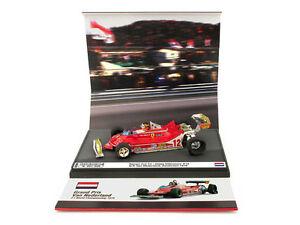 Ferrari 312 T4 Gills Villeneuve # 12 Gp Pays-Bas 1979 1:43 Modèle As59b Brumm