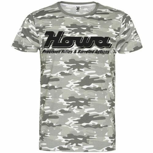 HOWA USA BOLT ACTION RIFLES Sporting Goods Company logo Men t-shirt