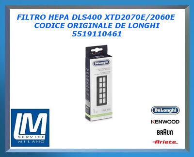 DE/'LONGHI FILTRO HEPA DLS 400 PER MODELLI XTD 2060E-XTD 2070E