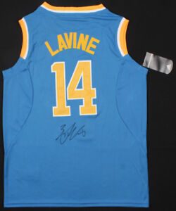 new arrivals c026c 79f75 Details about Zach Lavine Signed UCLA Bruins Jersey (Beckett COA) Chicago  Bulls Point Guard