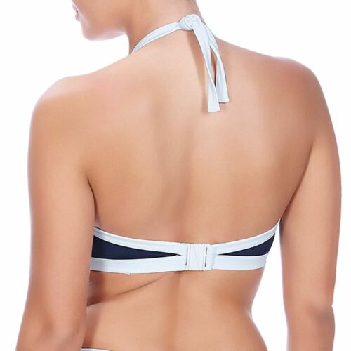 Freya Swimwear In The Navy Soft Triangle Bikini Top Marine Blue 3859