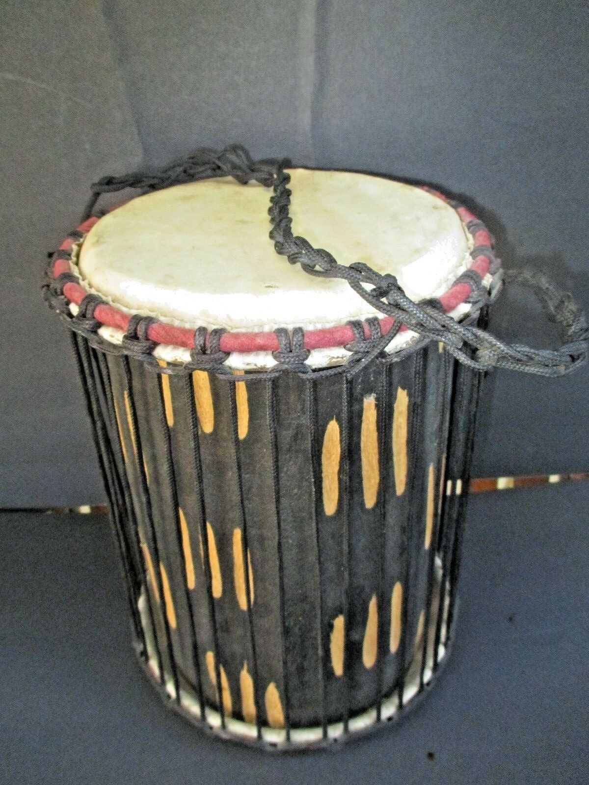 Handmade Power Bongo Drum (Ghana) 8530