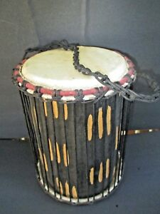 Details about Handmade Power Bongo Drum (Ghana) 8530