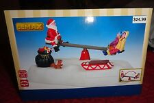 New 2016 Lemax Santa See Saw Building Christmas Village