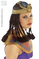 Egiziano Cleopatra Copricapo Parrucca con trecce Costume