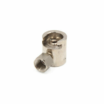 uxcell Brass Tone 9mm Thread Button Head Grease Zerk Nipple Fitting Universal for Car