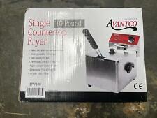 Avantco F100 10 Lb Electric Countertop Fryer 120v 1750w 177f100