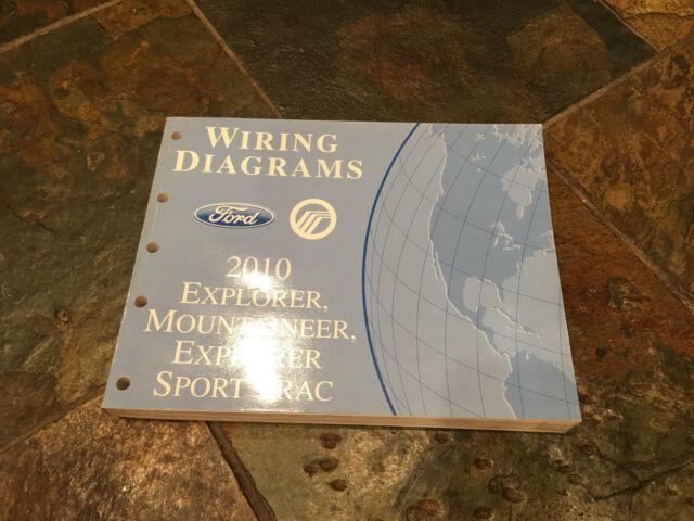 2010 Ford Explorer  U0026 Sport Trac Wiring Diagrams Electrical