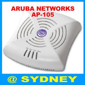Aruba-Networks-AP-105-W-AP105-Dual-Band-Wireless-Access-Point-802-11n-POE-AP