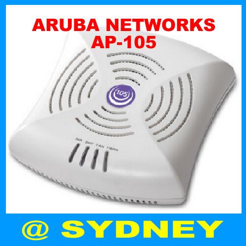 Aruba Networks AP-105 W-AP105 Dual-Band Wireless Access Point 802.11n POE AP