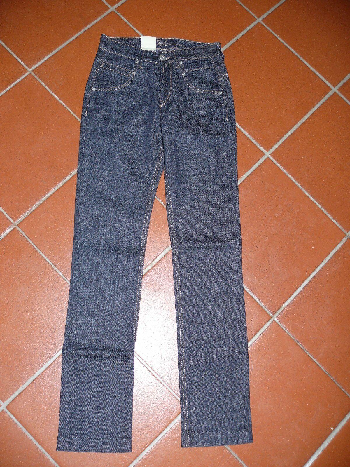JOKER gerade Jeans ANGELINA perfect fit 6608 40 dunkelblue W26 L32 NEU