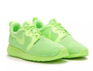 9995909fe68f Nike Wmns Roshe One HYP BR 833826-300 Ghost Green Size UK 4 EU 37.5 ...