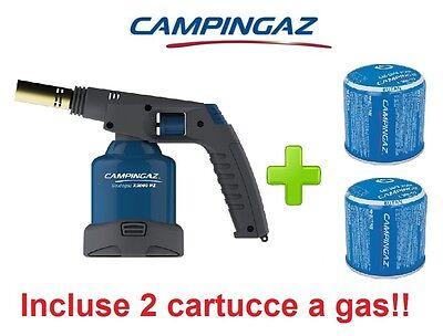 Saldatore Soudogaz X2000pz New 2016 Campingaz Piezo Elettrica + 2 Cartucce Gas Squisita Arte Tradizionale Del Ricamo