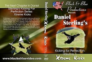 Daniel-Sterling-039-s-Kicking-for-Perfection-Volume-3-XMA-Instructional-DVD