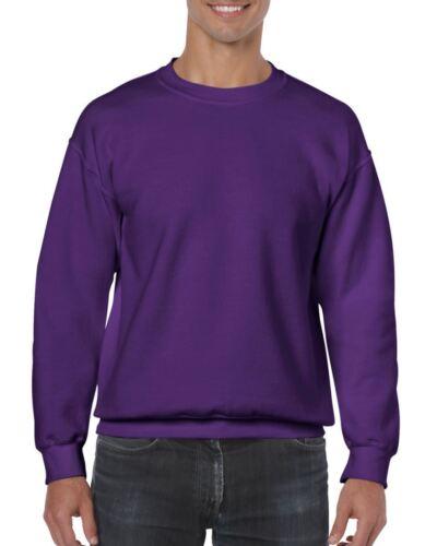 Gildan Heavy Blend Adulte à encolure ras-du-cou Pull-over Sweat Pull Workwear uniforme