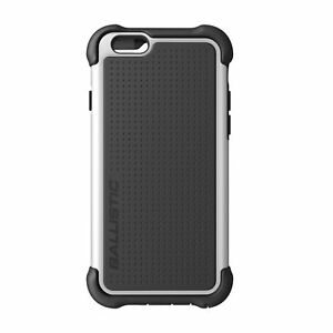 best service 2c3e2 74d79 Details about Ballistic Apple iPhone 6/6S Tough Jacket Case with Port  Covers - Black/White