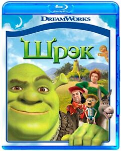 Nuovo-SHREK-2001-Blu-Ray-inglese-russo-polacco-ungherese-ceco