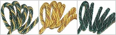 5MM CORD FREE P/&P YELLOW PIPING//EDGING ROPE X2 METRES ART 13.013
