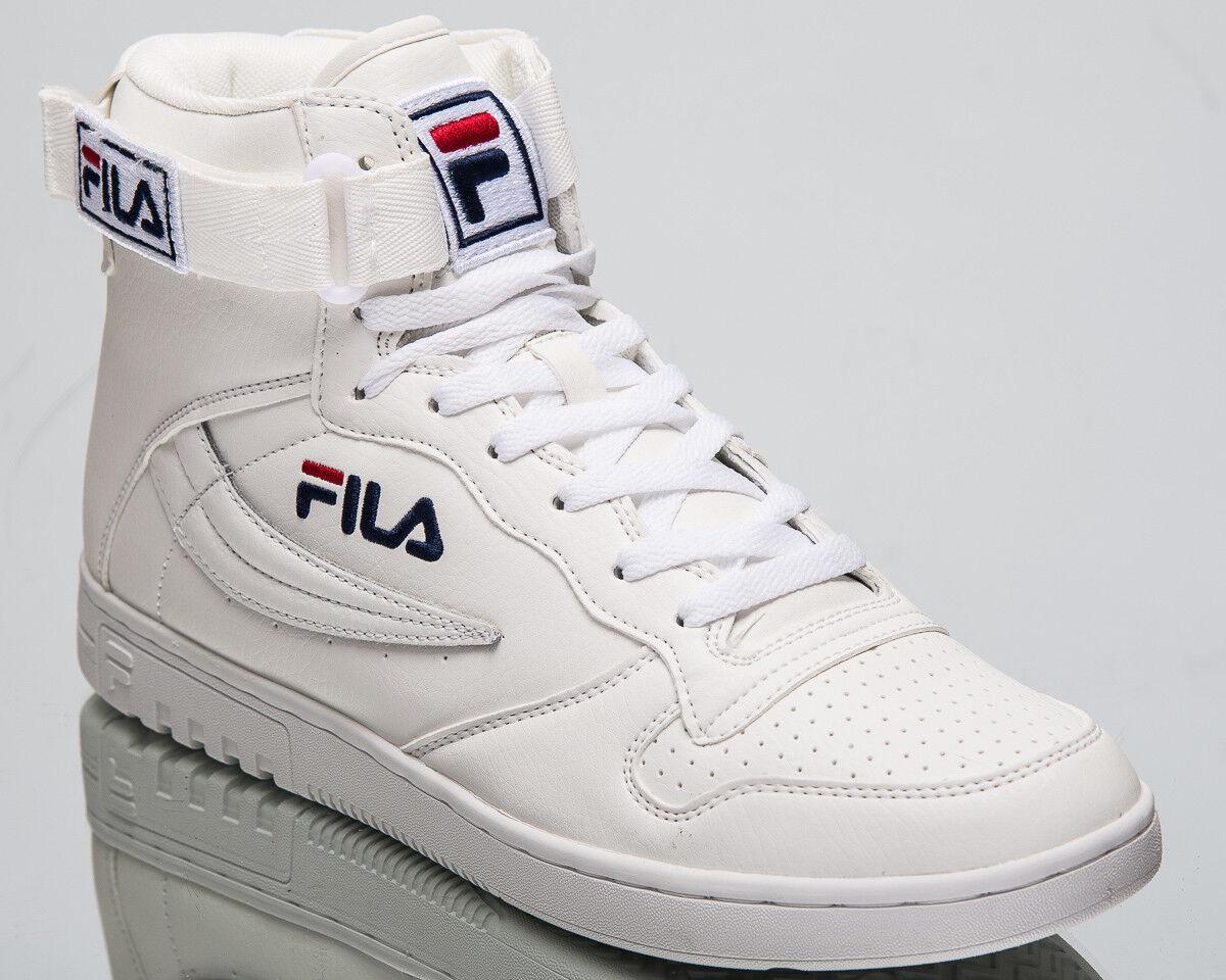 Fila FX100 Mid Top Hombre Zapatos Tenis blancoo Azul 2018 estilo de vida 1010416-1FG