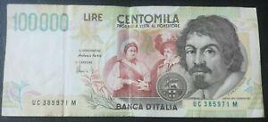 ITALY 100000 Lire 1994