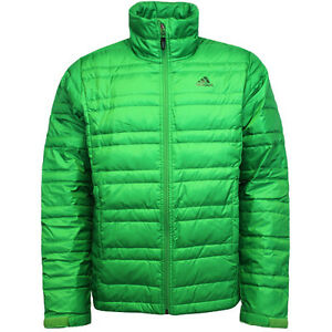 Adidas Mens Light Down Hooded Hiking Jacket