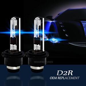 2pcs D2r 55w Power Oem Car Hid Xenon Led Headlight Replacement Bulbs