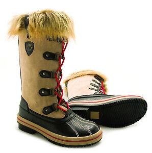 Winterschuhe Damen Stiefeletten Winter Stiefel Schneeschuh Outdoor Boots L96