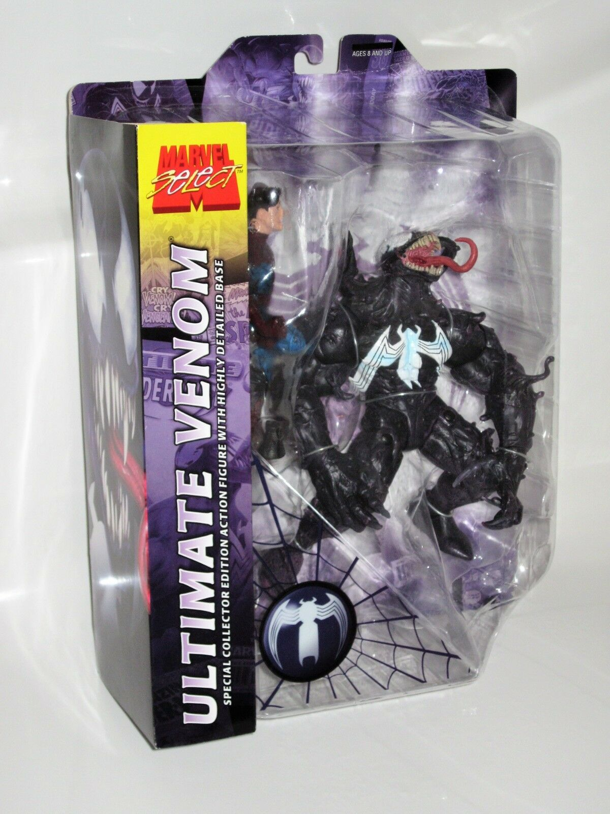 Marvel Select Ultimate Venom Variant w  Logo On Chest (Diamond Select) Brand New