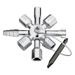 Knipex-001101-Llave-para-Armarios-001101
