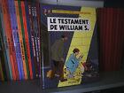Le Testament de William S. - Ex. Dédicacé - Sente/Juillard - BD