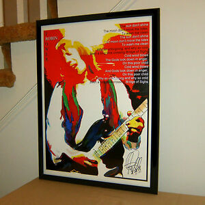 Robin Trower Poster Print