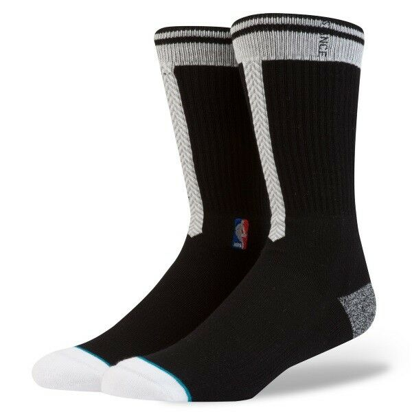 d7b3ac879 Stance 556 NBA Brooklyn Nets Black Arena Core Socks Size Large 9-12 for  sale online | eBay