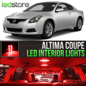 Image Is Loading Red LED Lights Interior Kit Package Bulbs For