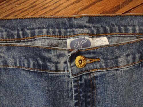 Diane Gilman Blue Denim Stretch Jeans      Plus Sizes New