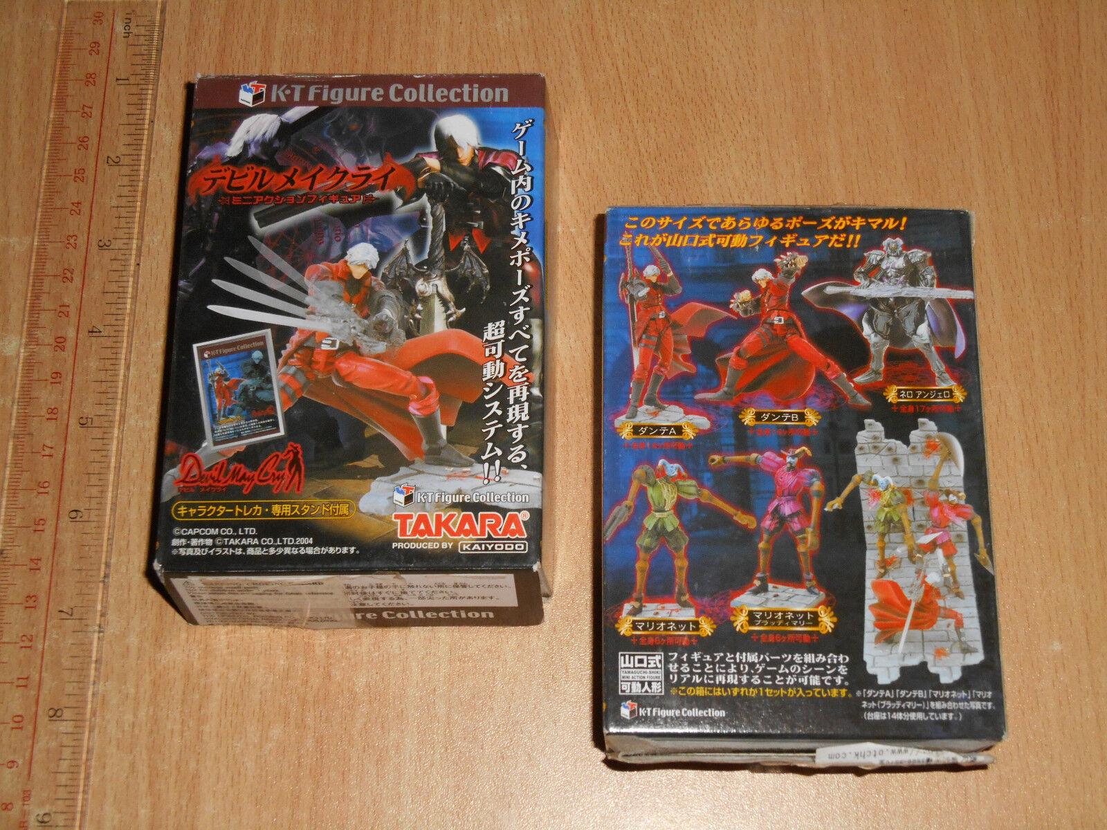 Takara Kaiyodo KT Collection Devil May Cry Trading Figure 1 Set x 5 Box C7 last