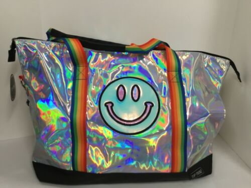Top Trenz Smiley Tote//Duffel Bag