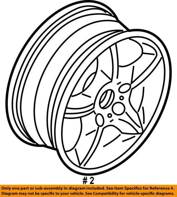 2004 Bmw X5 Wheel