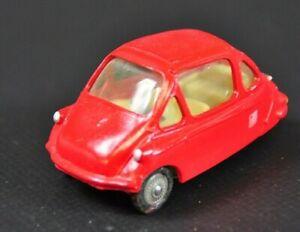Corgi-Toys-Heinkel-1-rot-Vintage-Modellauto-RARITAT-5B28