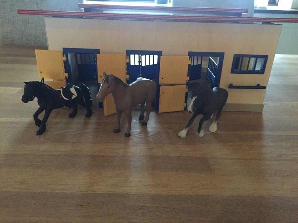 Stald, Til heste, Schleich