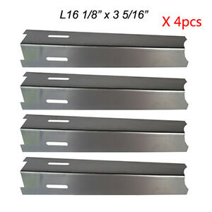 Image is loading Perfect-Flame-Gas-Grill-Heat-Plate-Stainless-Steel-  sc 1 st  eBay & Perfect Flame Gas Grill Heat Plate Stainless Steel Heat Shield ...