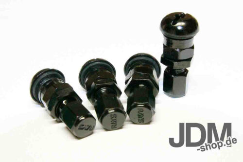 Aluminium Reifen Felgenventile eloxiert 4 stk tire valves anodized farbig