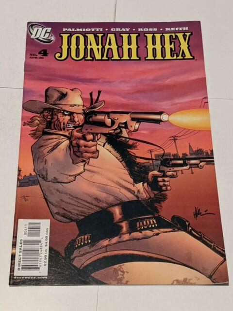 Jonah Hex #4 April 2006 DC Comics Gray Palmotti Ross Keith