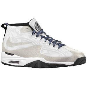 Mens Size- 9 NIKE Air Untouchable Vapor Black Silver Training Shoes Sneakers