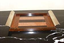 █► Französische Art Deco Tablett geometrisch Dekor Streamline 30er Jahren !
