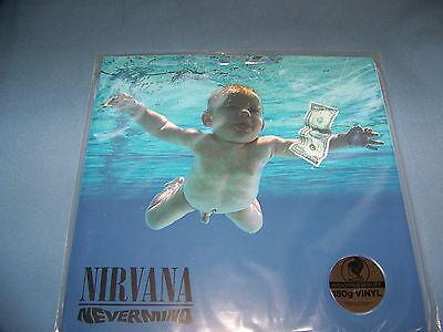 NIRVANA NEVERMIND 180 GRAM AUDIOPHILE VINYL  RECORD LP SEALED PALLAS PRESSING